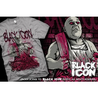 póló férfi BLACK ICON - Grey, BLACK ICON