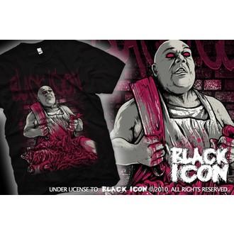 póló férfi BLACK ICON - Black, BLACK ICON