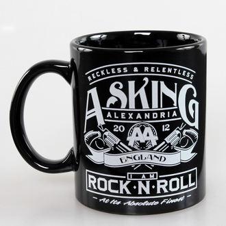 Asking Alexandria bögre - Rock N Roll - ROCK OFF, ROCK OFF, Asking Alexandria
