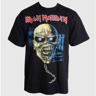 metál póló férfi Iron Maiden - Piece of Mind Skull - ROCK OFF, ROCK OFF, Iron Maiden