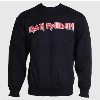 kapucnis pulóver férfi Iron Maiden - Logo - ROCK OFF, ROCK OFF, Iron Maiden