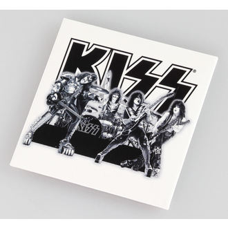 magnet Kiss - Graphite Band - ROCK OFF, ROCK OFF, Kiss