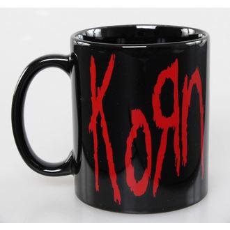 bögre Korn - Logo - ROCK OFF, ROCK OFF, Korn