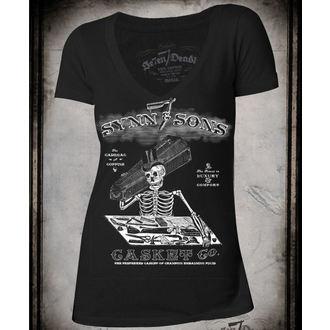 hardcore póló női - Synn & Sons - SE7EN DEADLY, SE7EN DEADLY