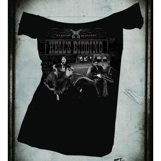 hardcore póló női - Hells Bidding OffShoulder - SE7EN DEADLY, SE7EN DEADLY