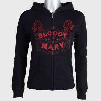 kapucnis pulóver női - Bloody Mary - SE7EN DEADLY, SE7EN DEADLY