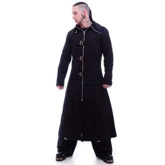 kabát férfi -tavaszi-őszi- NECESSARY EVIL - Highwayman Full Length - Black, NECESSARY EVIL