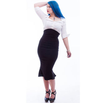 szoknya női NECESSARY EVIL - Lyssa High Waisted - Black, NECESSARY EVIL