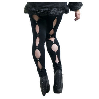 NECESSARY EVIL női cicanadrág (leggings)- Circe - Black, NECESSARY EVIL