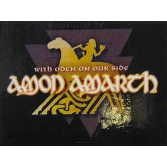 zászló Amon Amarth - With Oden Your Side, HEART ROCK, Amon Amarth