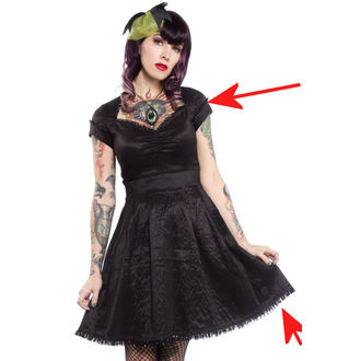 ruha női SOURPUSS - Party Princess - Black - SPDR118, SOURPUSS