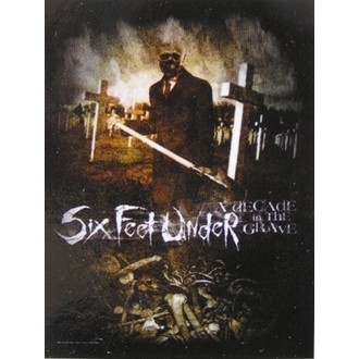 zászló Six Feet Under - Évtizede In The Grave, HEART ROCK, Six Feet Under