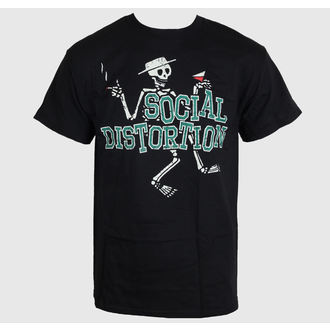 metál póló férfi Social Distortion - Letterman Skully - BRAVADO, BRAVADO, Social Distortion