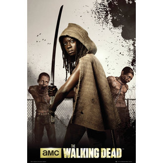 poszter The Walking Dead - Dead Michonne - GB Posters, GB posters