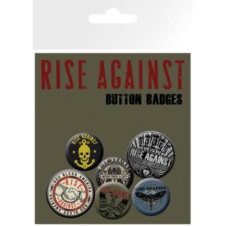 jelvények Rise Against - Rázás Hands - GB Posters, GB posters, Rise Against
