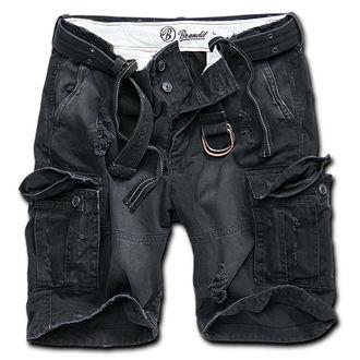 rövidnadrág férfi Brandit - Shell Valley Heavy Vintage - Black, BRANDIT