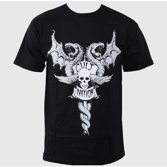 póló férfi CVLT NATION - Doom Town - Black, CVLT NATION