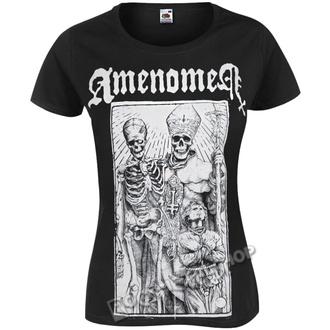 hardcore póló női - POPE AND DEATH - AMENOMEN, AMENOMEN