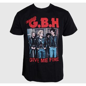 metál póló férfi G.B.H. - Give Me Fire - CARTON, CARTON, G.B.H.