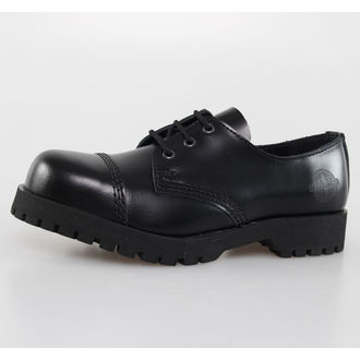 cipő NEVERMIND - 3 lyukú - Black Polido, NEVERMIND