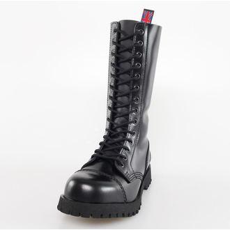 cipő NEVERMIND - 14 lyukú - Black Polido, NEVERMIND