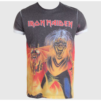 metál póló férfi Iron Maiden - The Number of the Beast - ROCK OFF