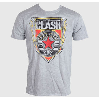 metál póló férfi Clash - Shield 1976 - LIVE NATION, LIVE NATION, Clash