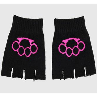 kesztyű ujj nélküli Magic - Black / Pink