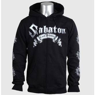 kapucnis pulóver férfi Sabaton - Czech Republic - CARTON, CARTON, Sabaton