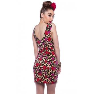 IRON FIST női ruha - Leopard Garden - Leopard, IRON FIST