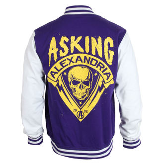 pulóver (kapucni nélkül) férfi Asking Alexandria - Skull Shield - PLASTIC HEAD, PLASTIC HEAD, Asking Alexandria