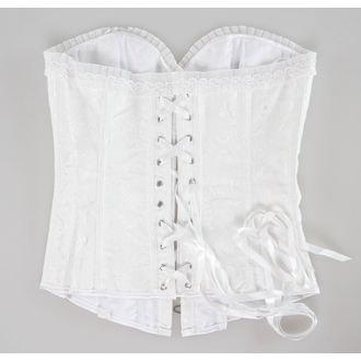 DRACULA CLOTHING női fűző- White, DRACULA CLOTHING