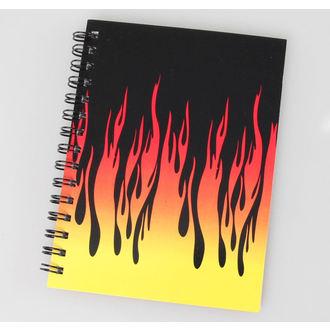 jegyzet blokk Flames