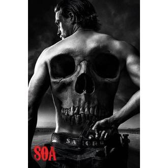 poszter Sons Of Anarchy - Skull - PYRAMID POSTERS, PYRAMID POSTERS