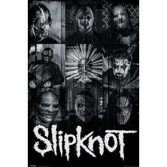Slipknot poszter - Masks - PYRAMID POSTERS - PP33532