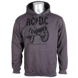 kapucnis pulóver férfi AC-DC - For Those About To Rock - PLASTIC HEAD, PLASTIC HEAD, AC-DC