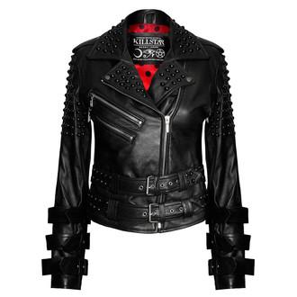 bőrdzseki női - Buckled Leather - KILLSTAR, KILLSTAR