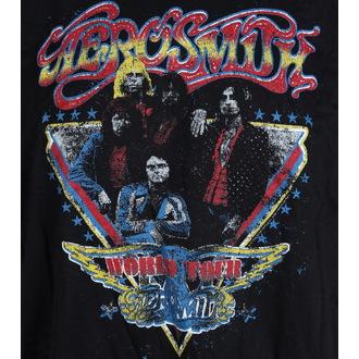 metál póló férfi Aerosmith - Distressed World Tour - LIVE NATION, LIVE NATION, Aerosmith