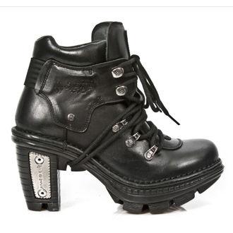 magassarkú cipő női - Itali Negro - NEW ROCK, NEW ROCK