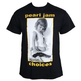 póló férfi Pearl Jam - Választások - BLK - LIVE NATION, NNM, Pearl Jam
