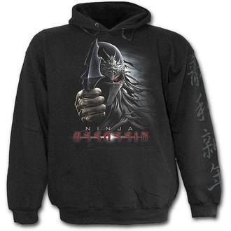 kapucnis pulóver gyermek - Black - SPIRAL, SPIRAL