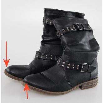 cipő női Brandit - Bikerboot - Black - SÉRÜLT