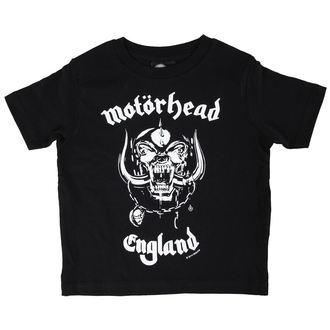 póló gyermek Motörhead - England - Black - Metal-Kids, Metal-Kids, Motörhead