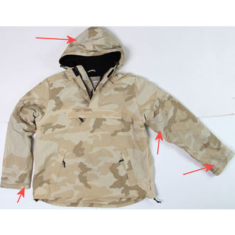 anorák SURPLUS - Windbreaker - DESERT - SÉRÜLT, SURPLUS
