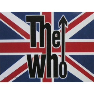 zászló The Who - UK, HEART ROCK, Who