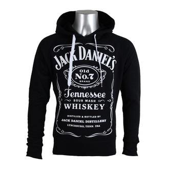kapucnis pulóver férfi Jack Daniels - Black - JACK DANIELS, JACK DANIELS