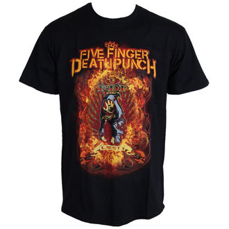 metál póló Five Finger Death Punch - Burn In Sin - ROCK OFF, ROCK OFF, Five Finger Death Punch