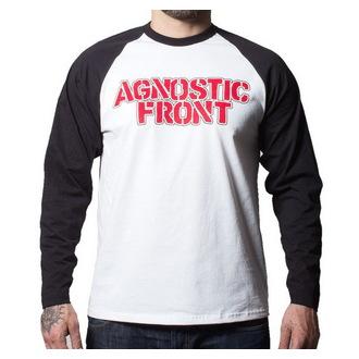 póló férfi  hosszú ujj Agnostic Front - Never Walk Alone - Buckaneer - Black/White, Buckaneer, Agnostic Front