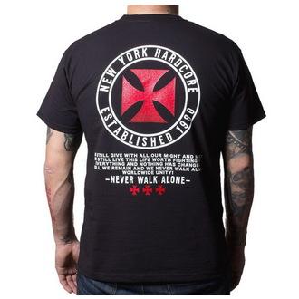 póló férfi Agnostic Front - Never Walk Alone - Buckaneer - Black, Buckaneer, Agnostic Front