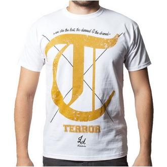 póló férfi Terror - Damned - Buckaneer - White, Buckaneer, Terror